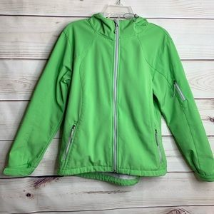 BLACK DIAMOND Green Gray Cold Weather Snow Jacket